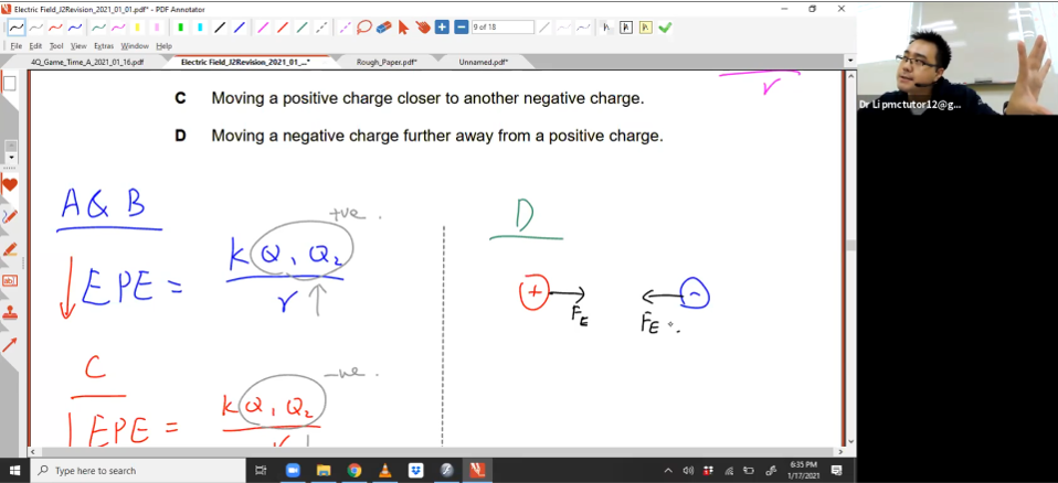 [ELECTRIC FIELD] Applying Formulas + Graphs
