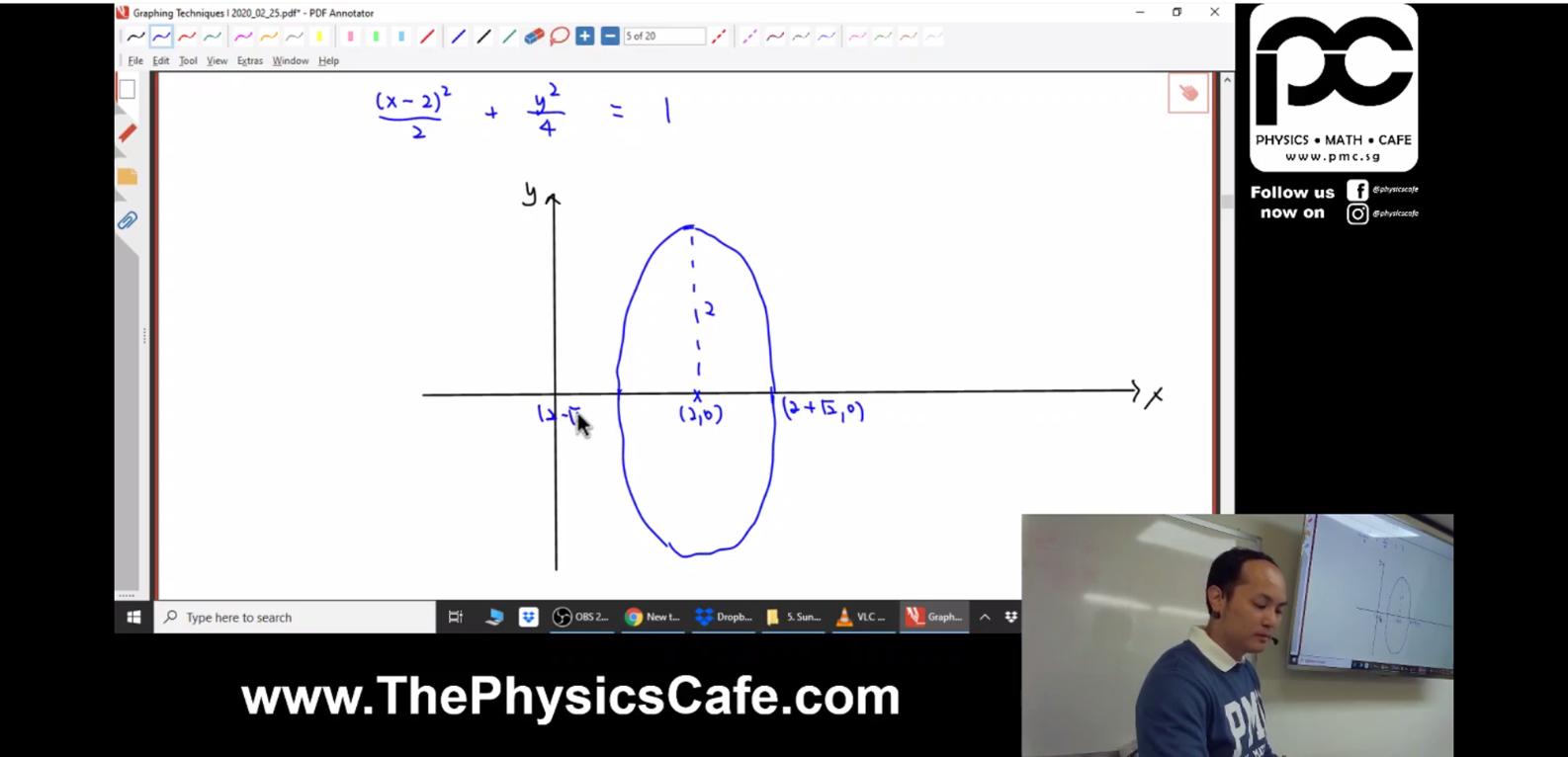 [GRAPHING] Algebraic Method