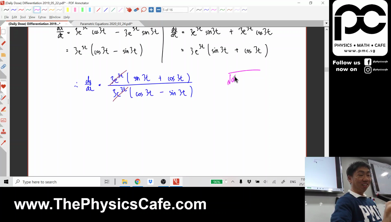 [FUNCTIONS] Parametric Equations