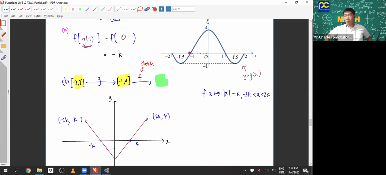 [FUNCTIONS] Composite Functions