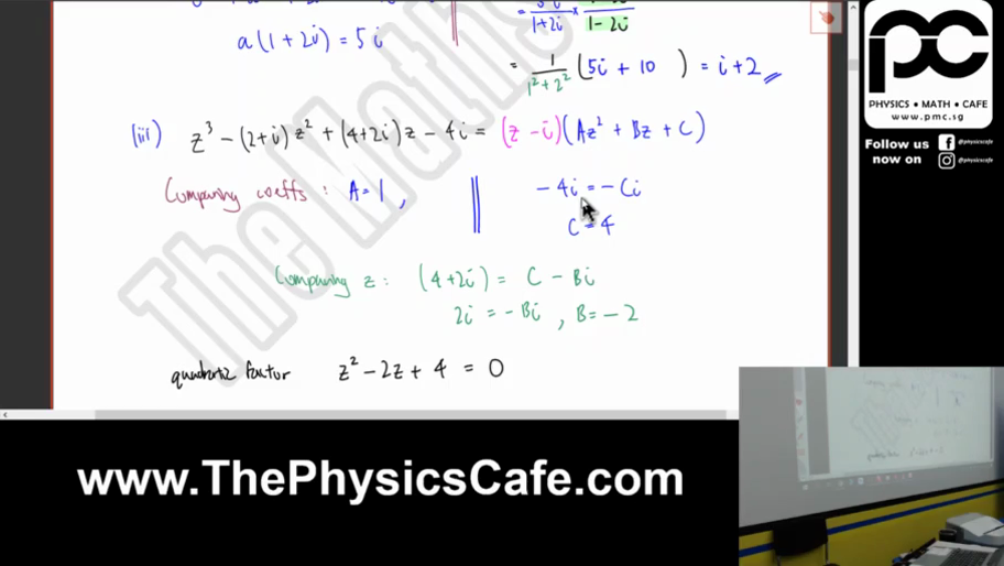 [COMPLEX NUMBERS] Roots of Polynomial