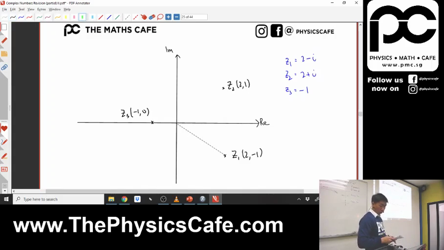 [COMPLEX NUMBERS] Geometric Representation
