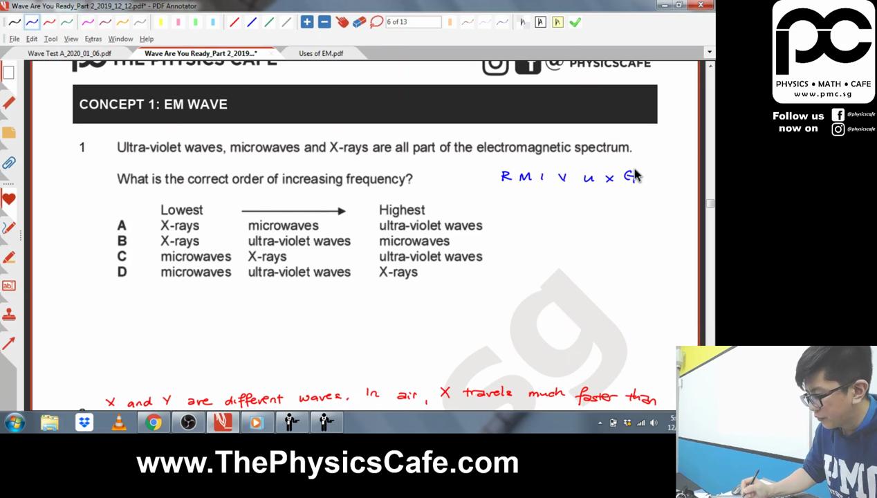 [WAVES] EM Waves