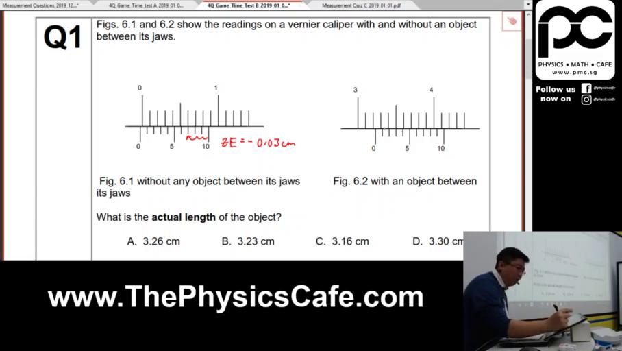 [MEASUREMENT] Vernier Calipers and Micrometers