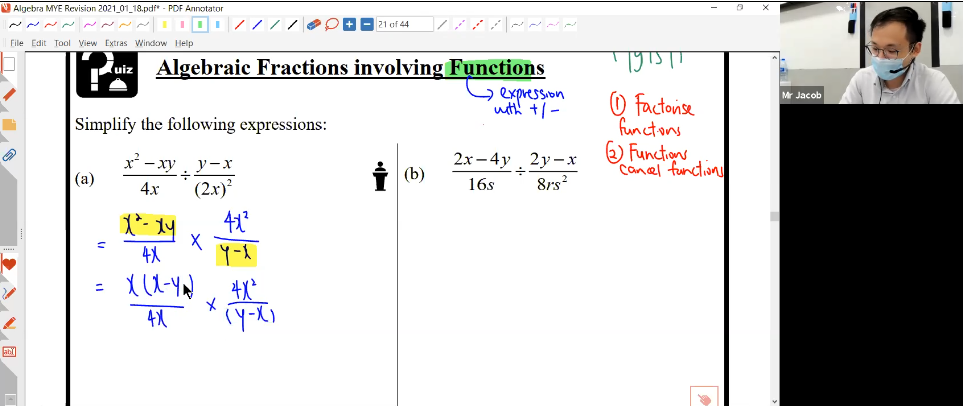 22. MYE Revision L3 (MATH)