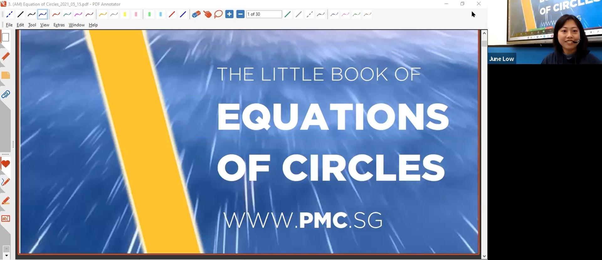 22. (AM) Equation of Circles
