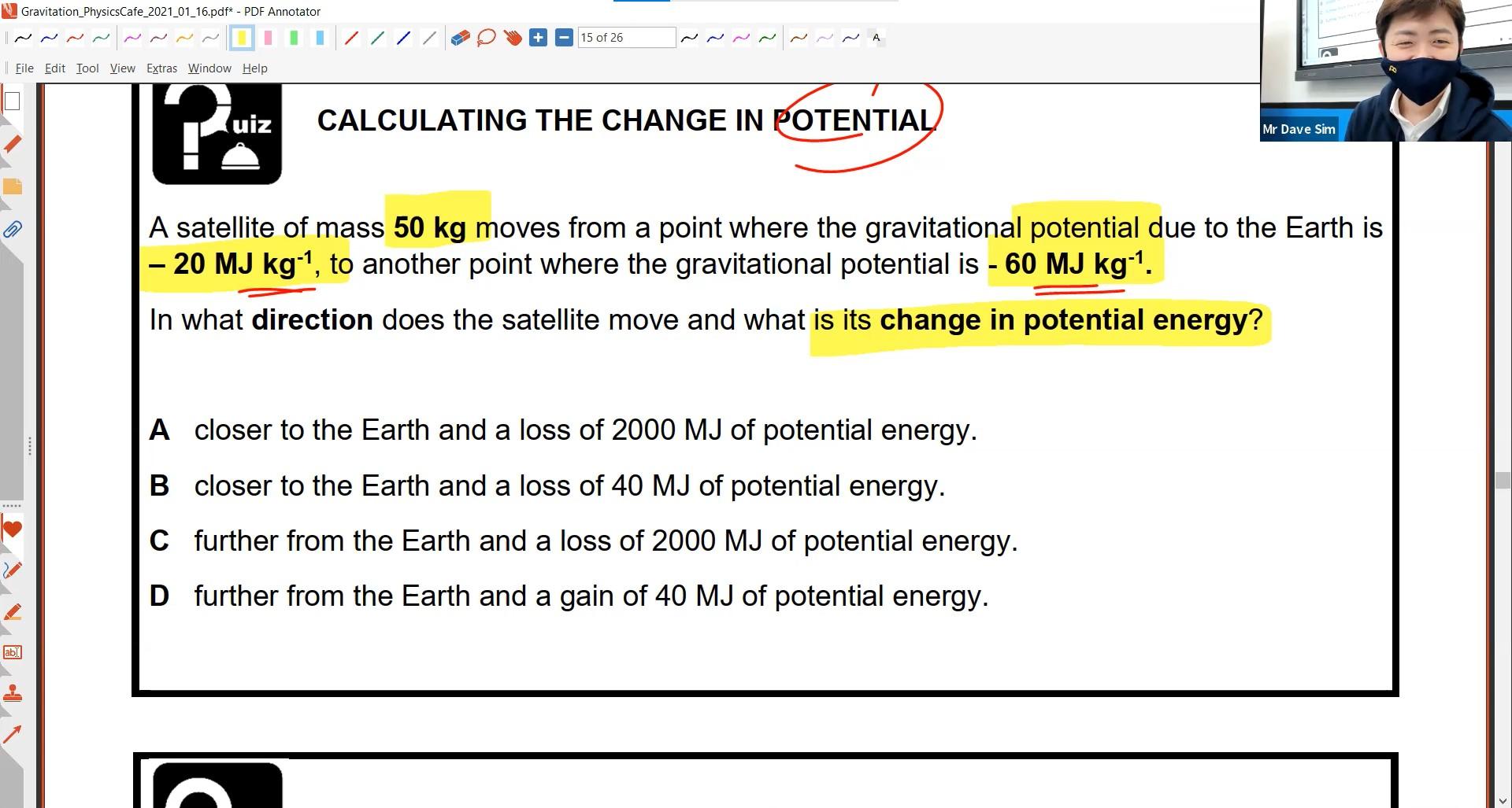 22. Gravitation Lesson 1