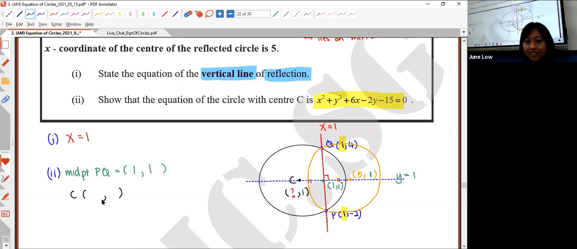 23. (AM) Equation of Circles Lesson 2