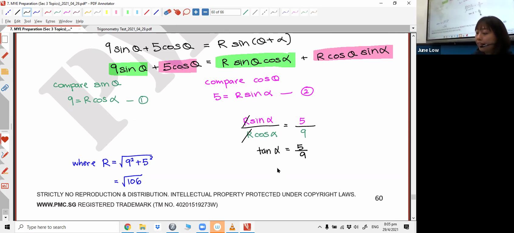[TRIGO] R Formula
