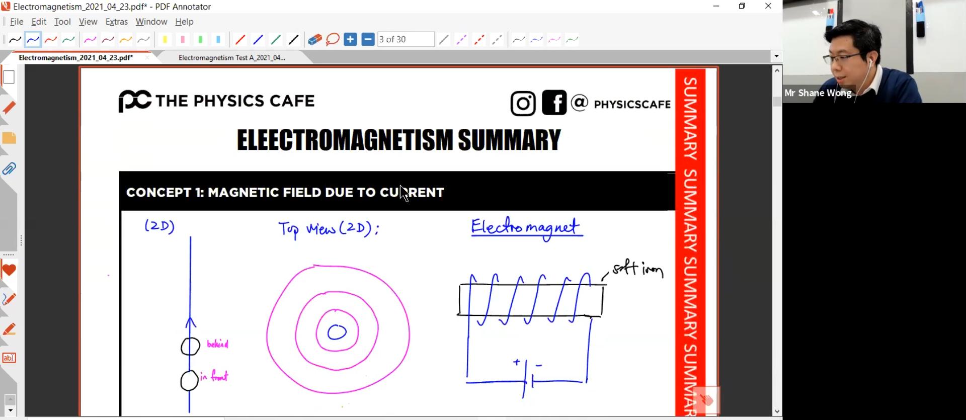 23. Electromagnetism L2