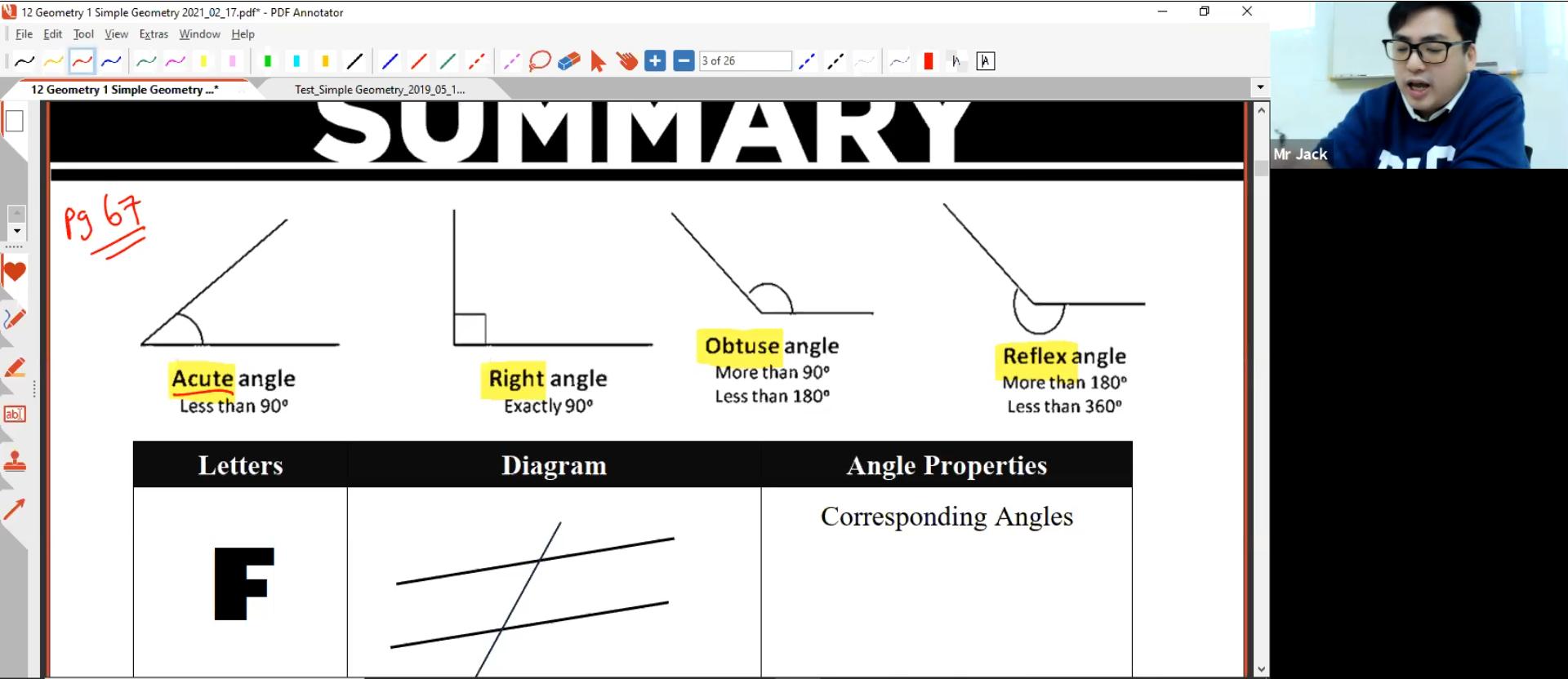23. Geometry 1: Angles L1