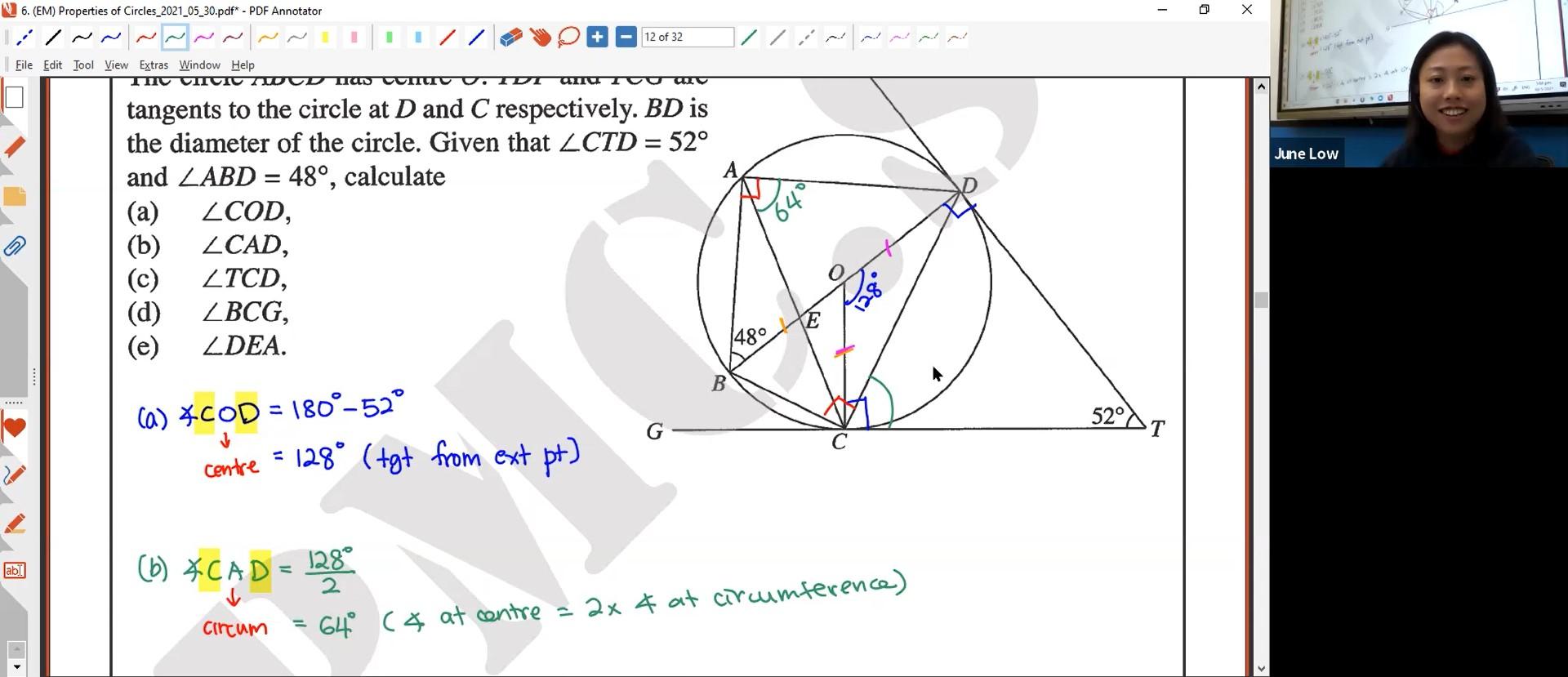 24. (EM) Properties of Circles