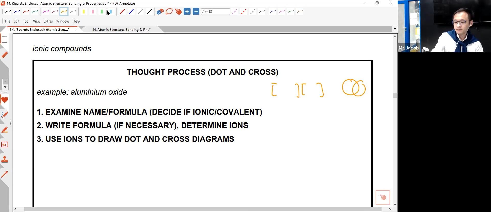 24. EOY - Atomic Structure, Chem Bonding & Structure of Matter I