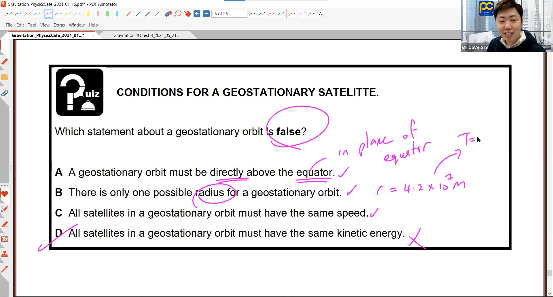 24. Gravitation Lesson 3