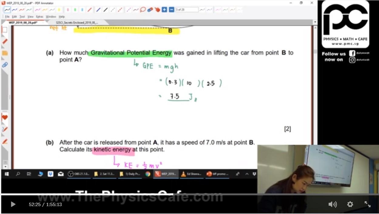 34. Work Energy Power EOY Revision
