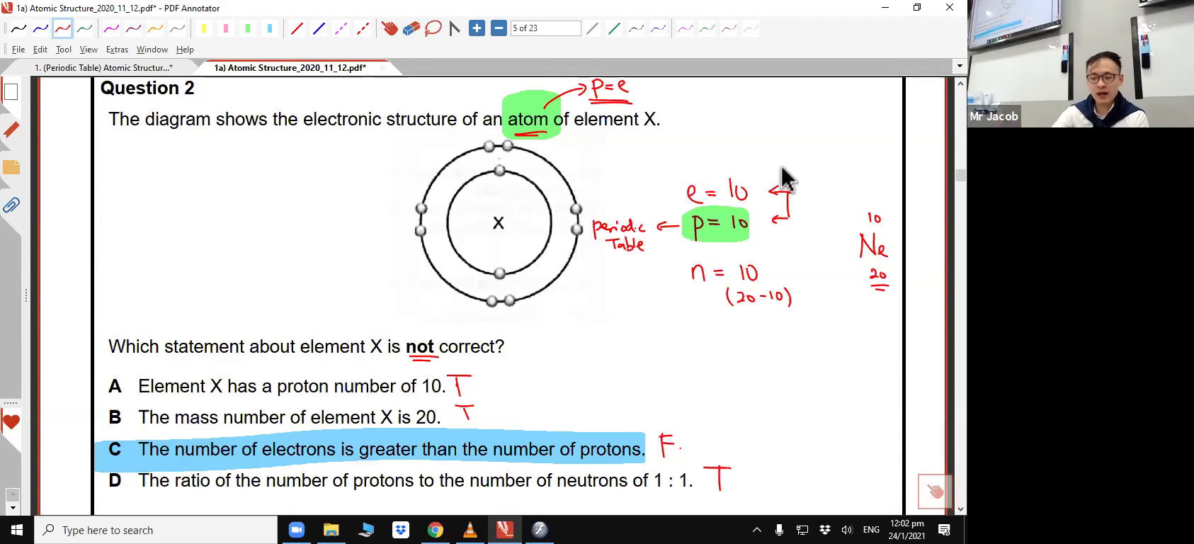 [ATOMIC STRUCTURE] Atoms, Ions & Isotopes