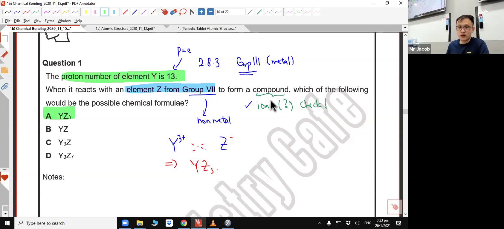 [CHEMICAL BONDING] Ionic Bonding & Chemical Formulae