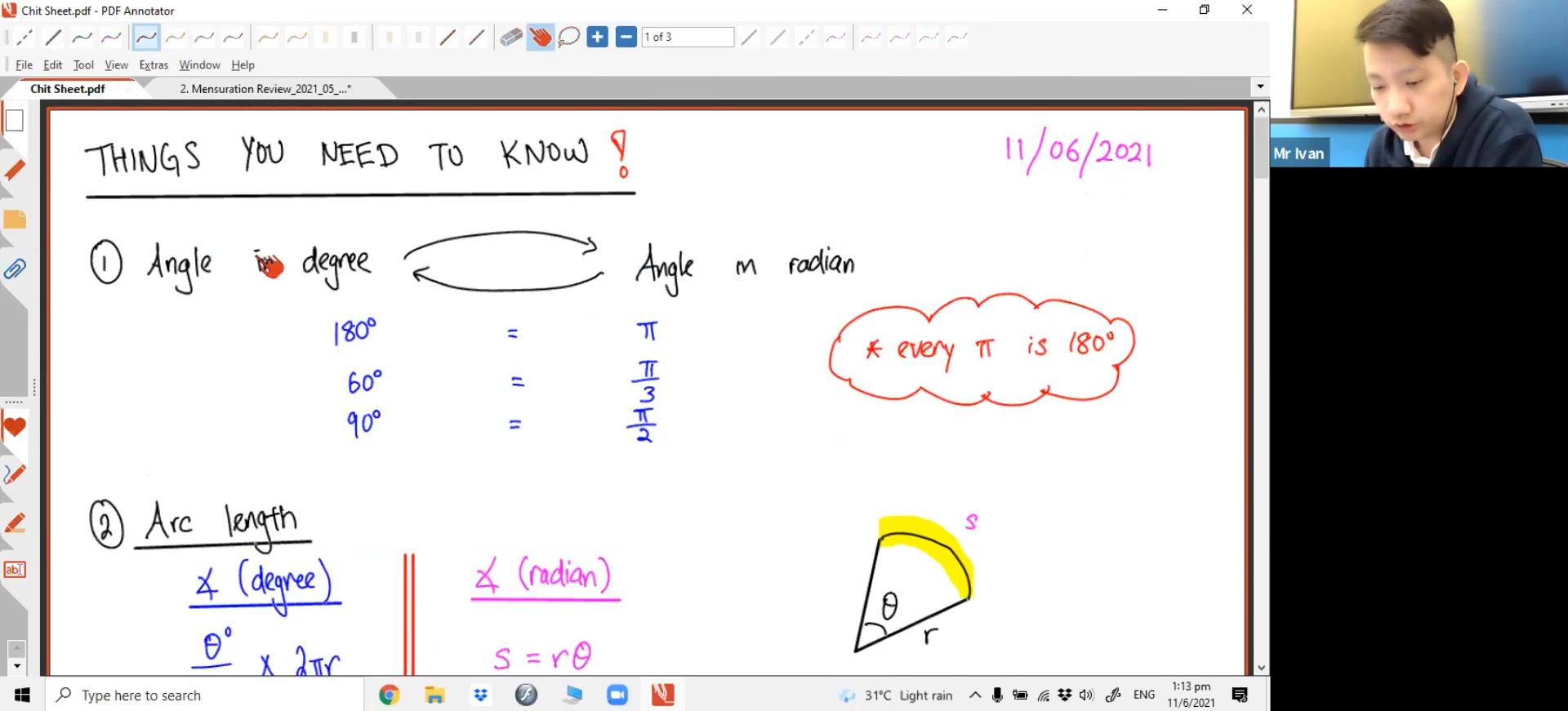 S4E-Maths June Holiday - L2 Mensuration