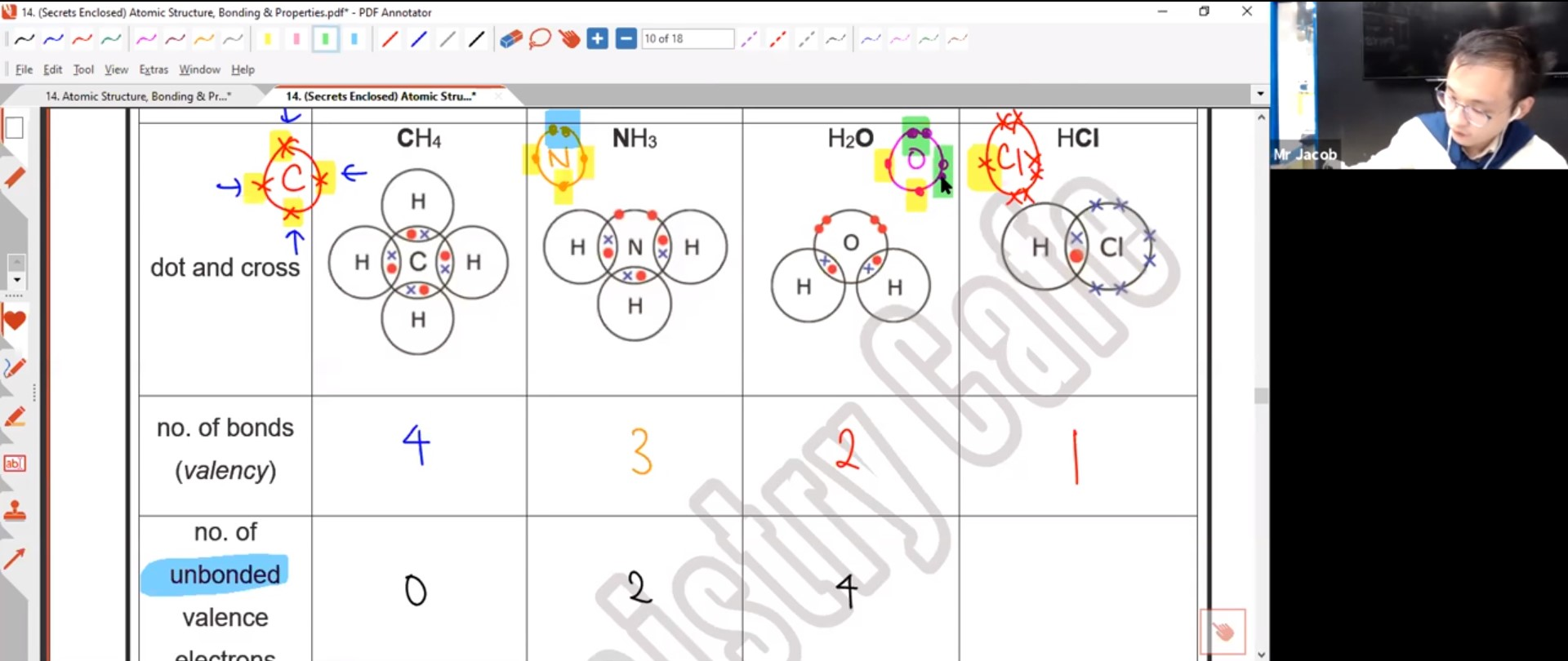25. EOY - Atomic Structure, Chem Bonding & Structure of Matter 2
