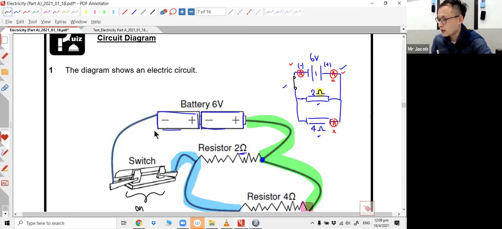 [ELECTRICITY] Current & Circuit Symbols