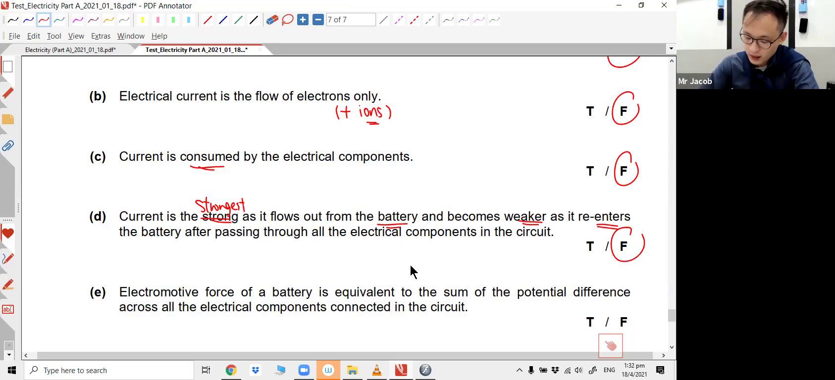 [ELECTRICITY] Resistance, Potential Difference & e.m.f.