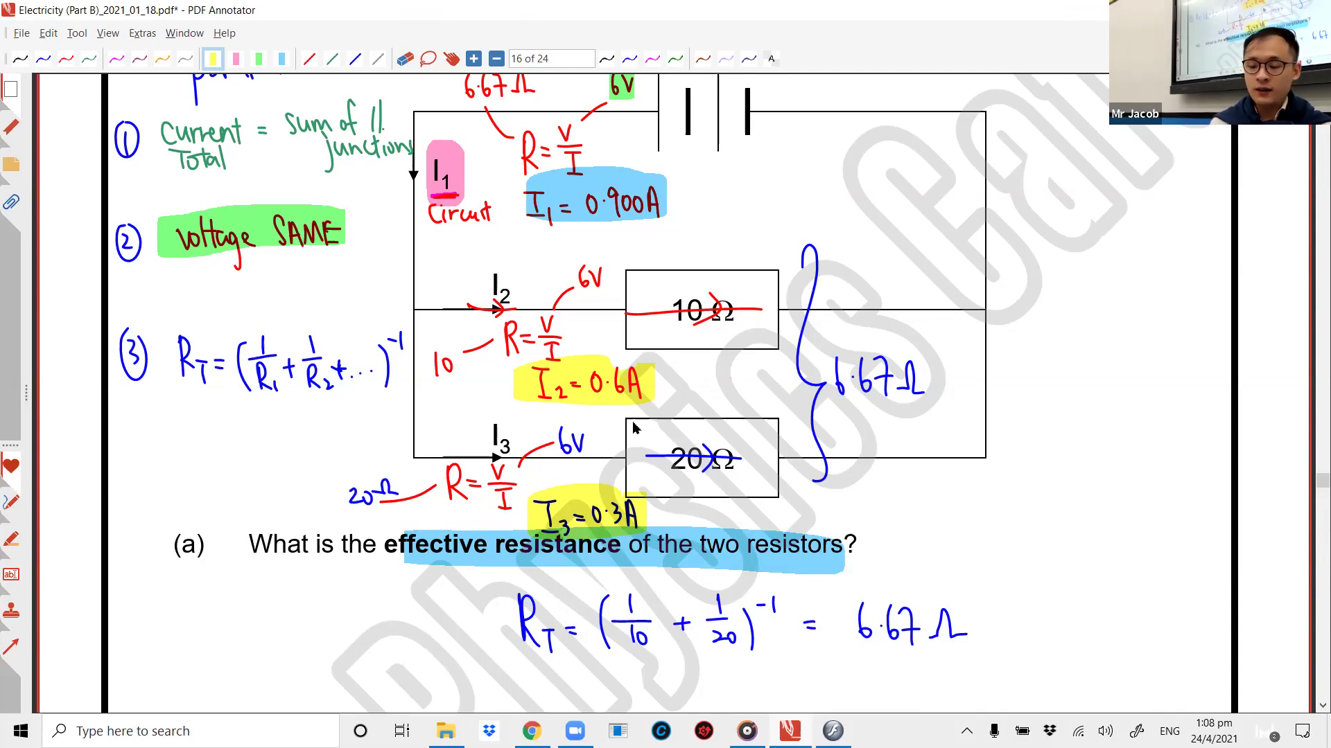 [ELECTRICITY] Series and Parallel Circuits