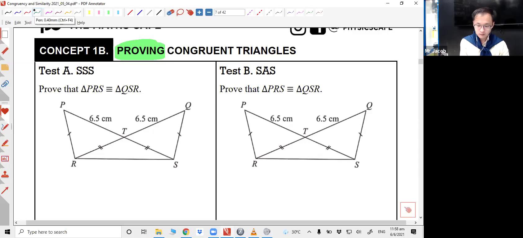[SIMILARITY AND CONGRUENCY] Congruency Test