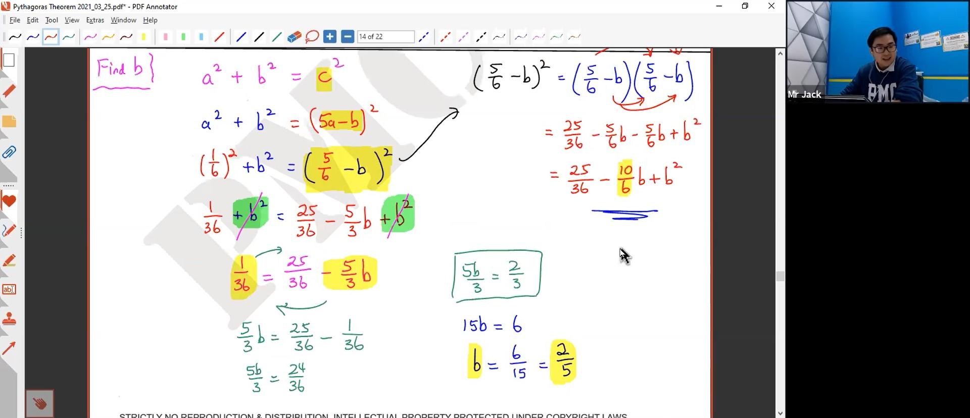 27. Pythagoras Theorem