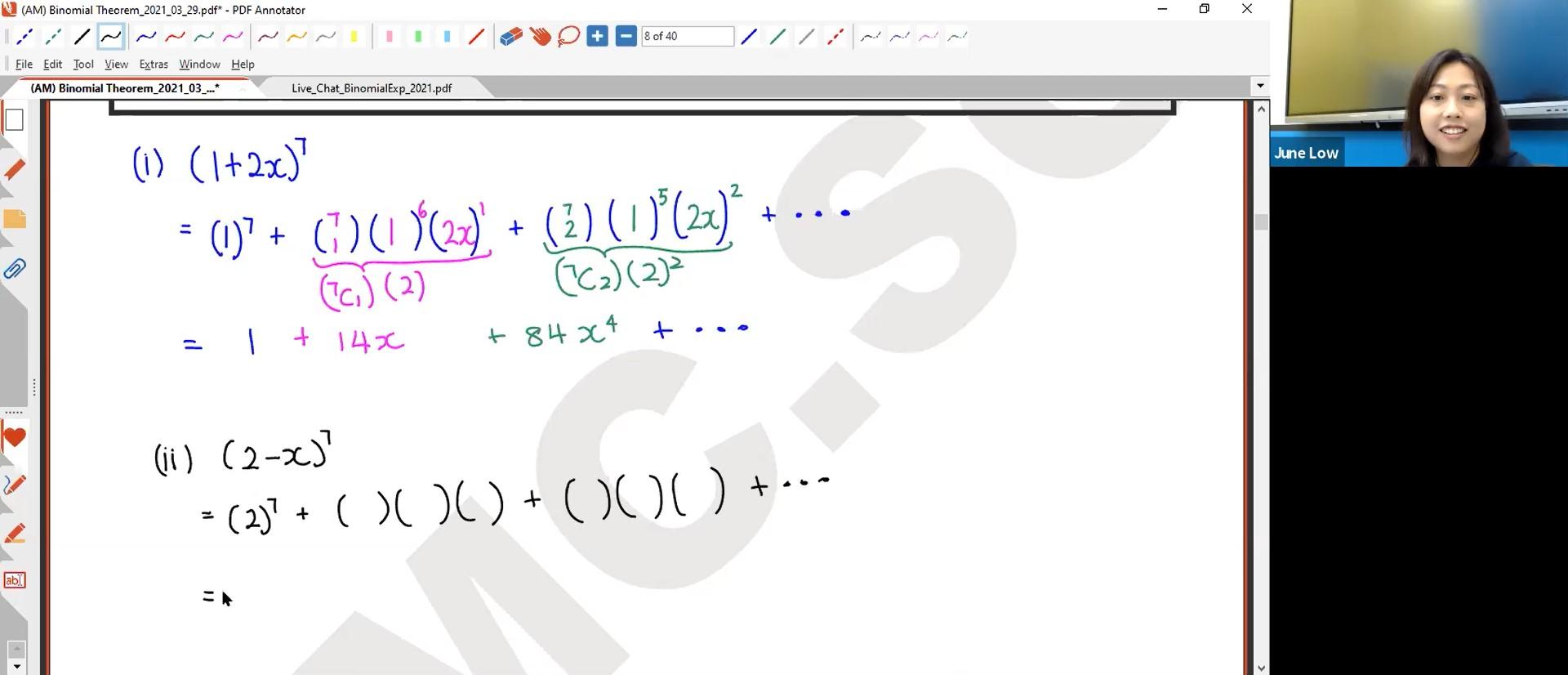 27. (AM) Binomial Part 1