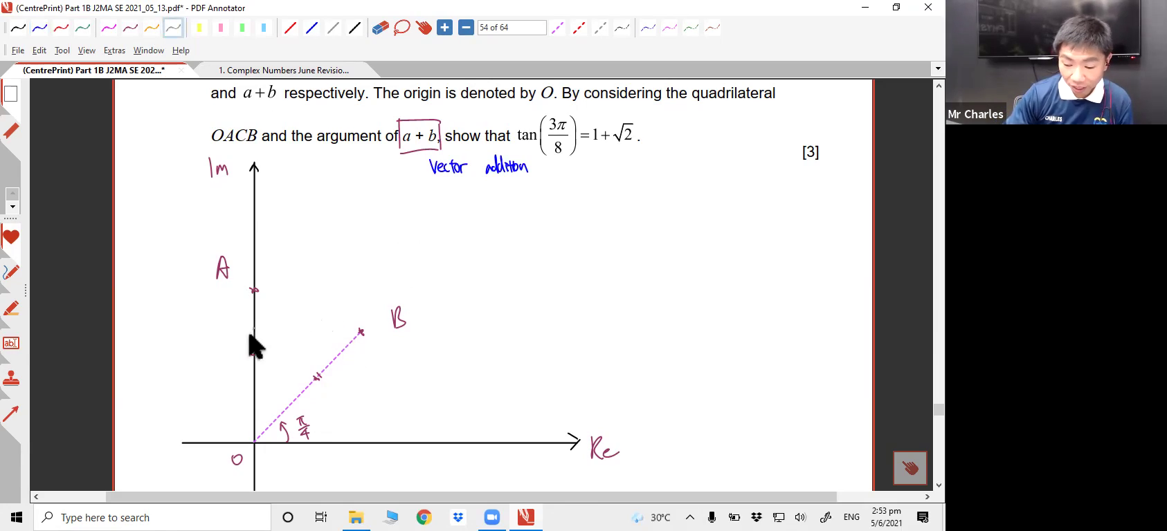 [COMPLEX NUMBERS] Polar Form