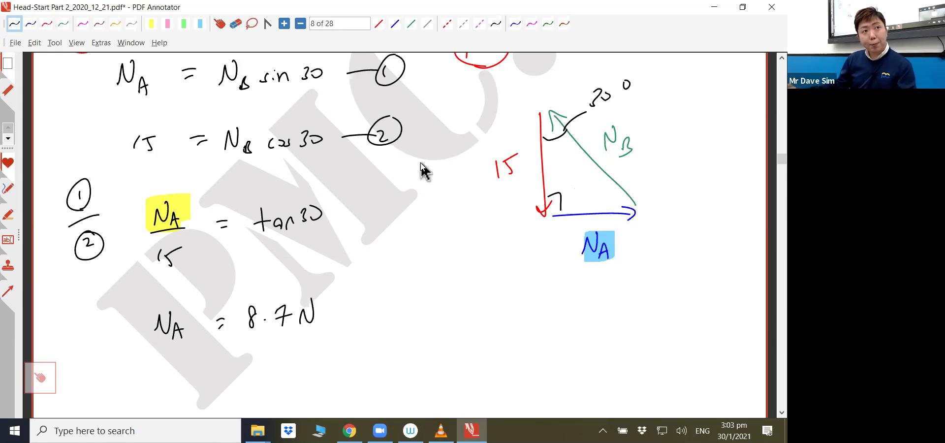 [JC HEADSTART] Projectile Motion, Forces, Dynamics