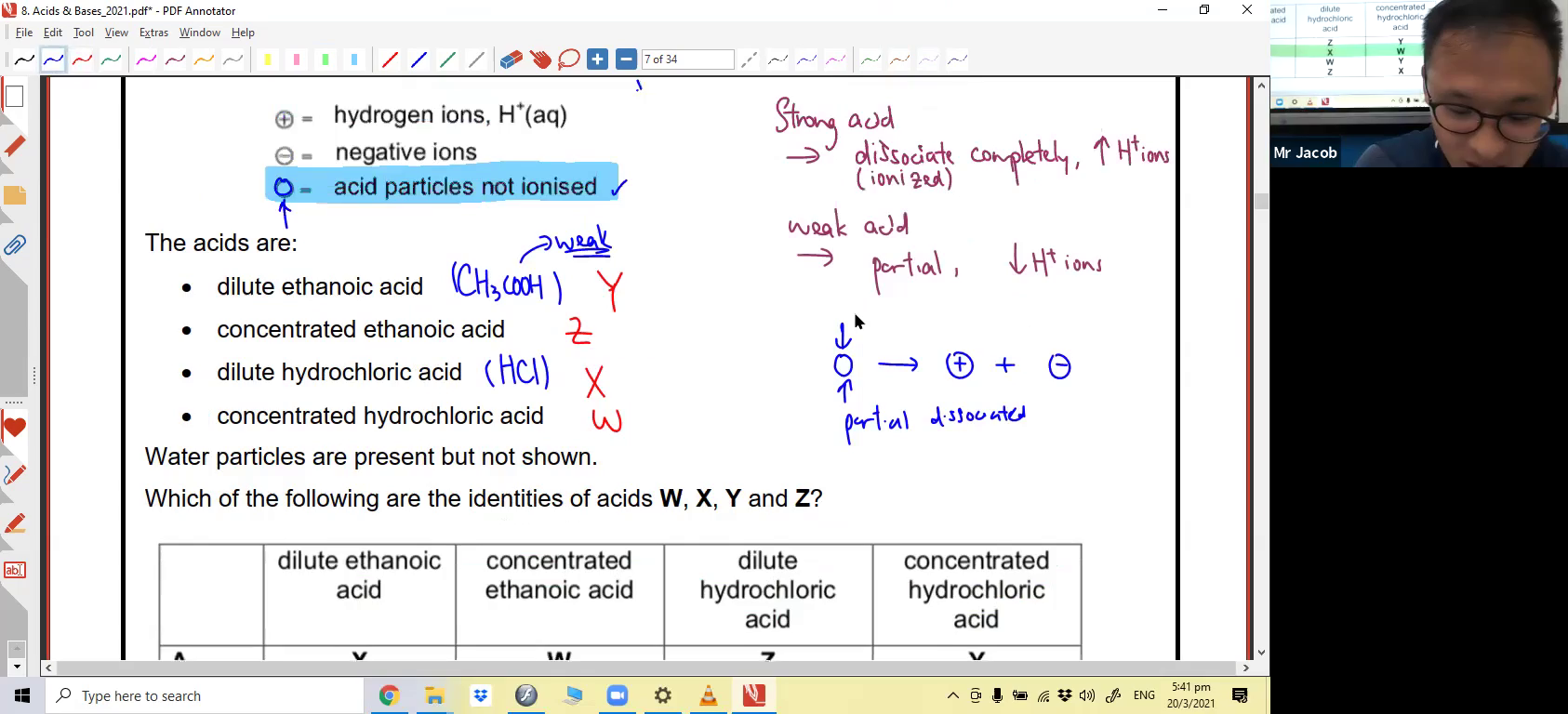 [ACIDS & BASES] Properties of Acids and Bases