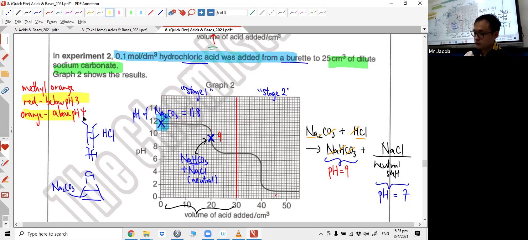 [ACIDS & BASES] Indicators & Titration