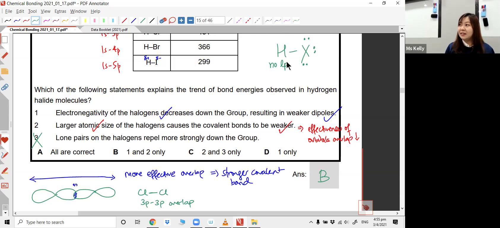 [CHEM BONDING] Sigma-bond and Pi-bond, Intermediate Bonding