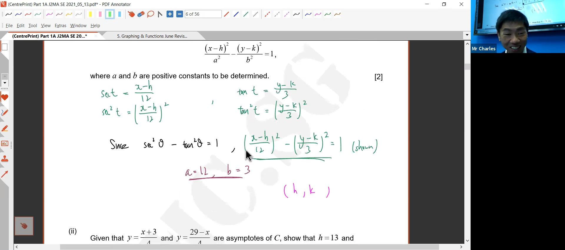 29. Graphing & Functions Revision L1