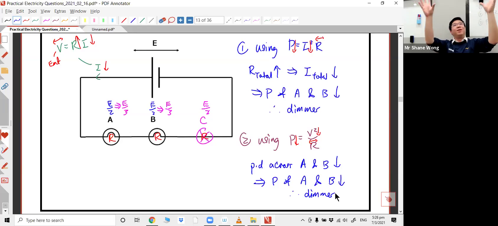[PRACTICAL ELECTRICITY] Power