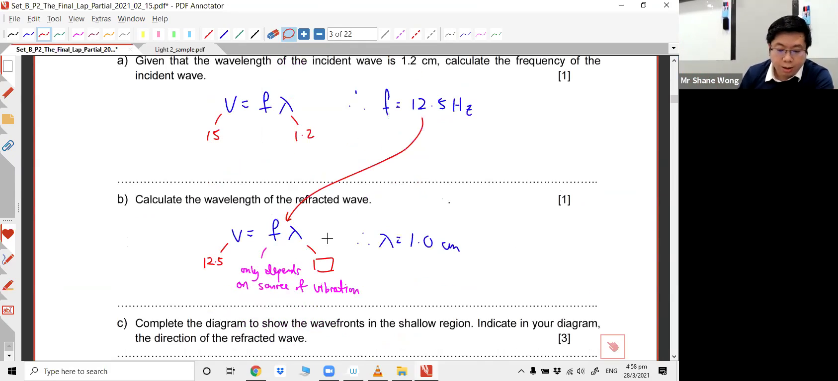 [WAVES] Reflection and Refraction of Waves