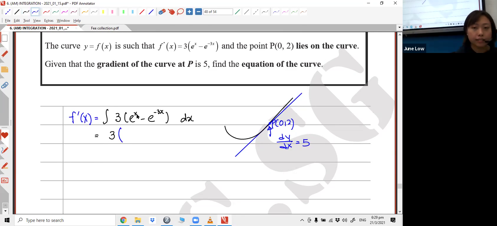 [INTEGRATION] Exponential Functions