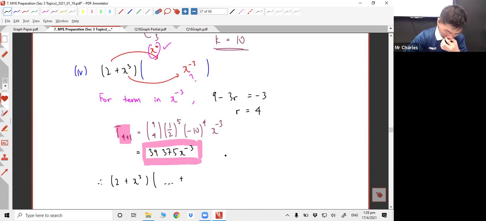 [BINOMIAL THEOREM] Binomial Theorem