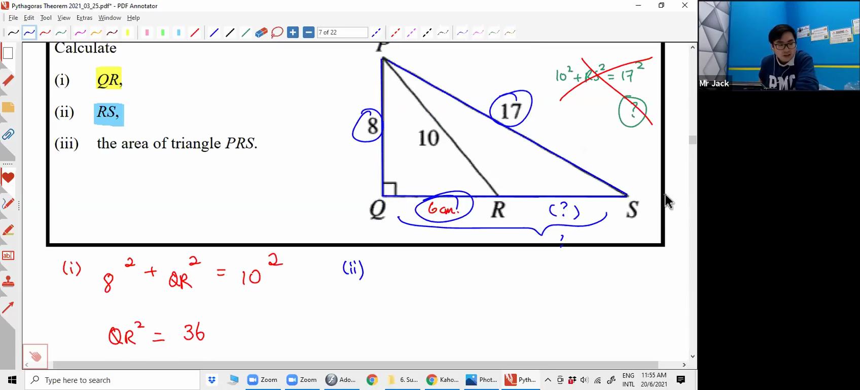 [PYTHAGORAS THEOREM] Pythagoras Theorem