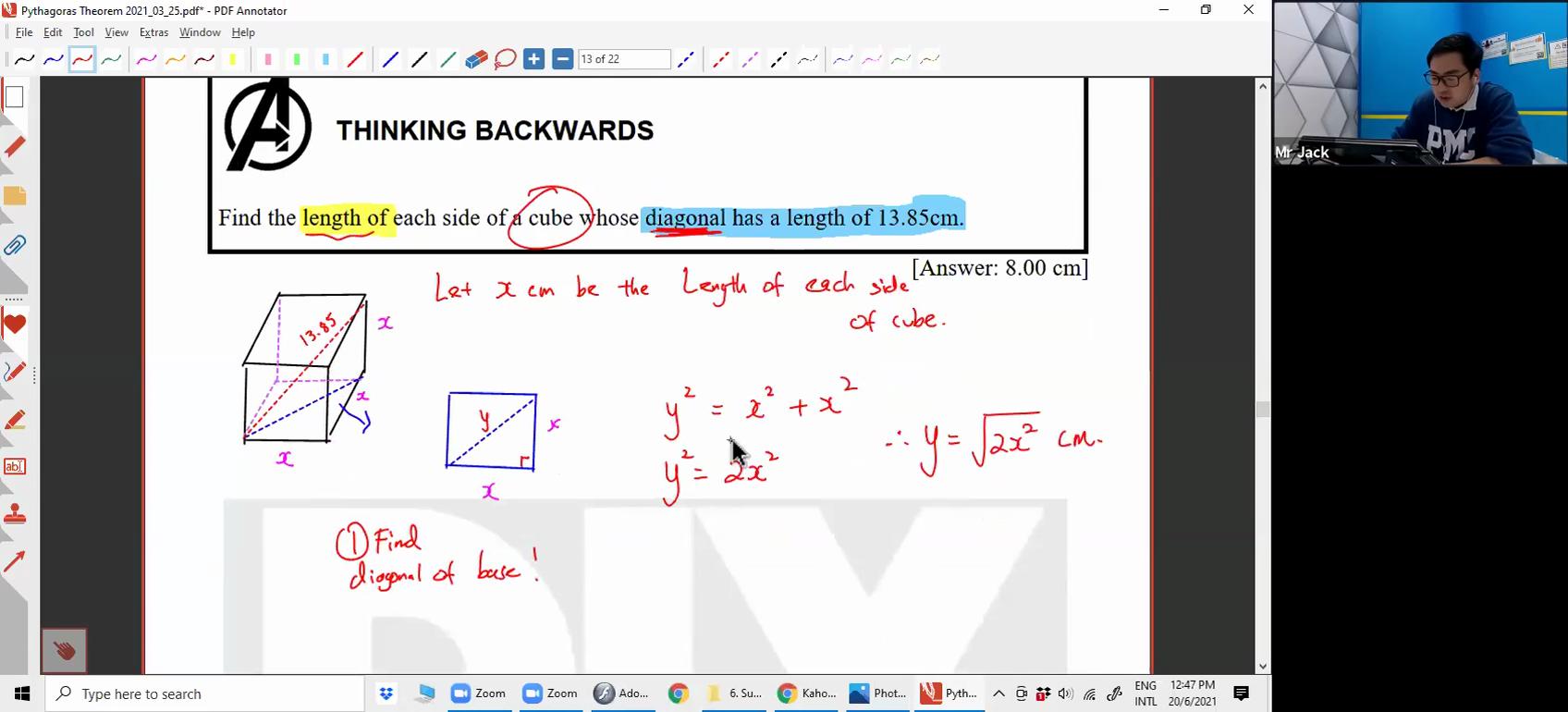 [PYTHAOGRAS THEOREM] Pythagoras Theorem