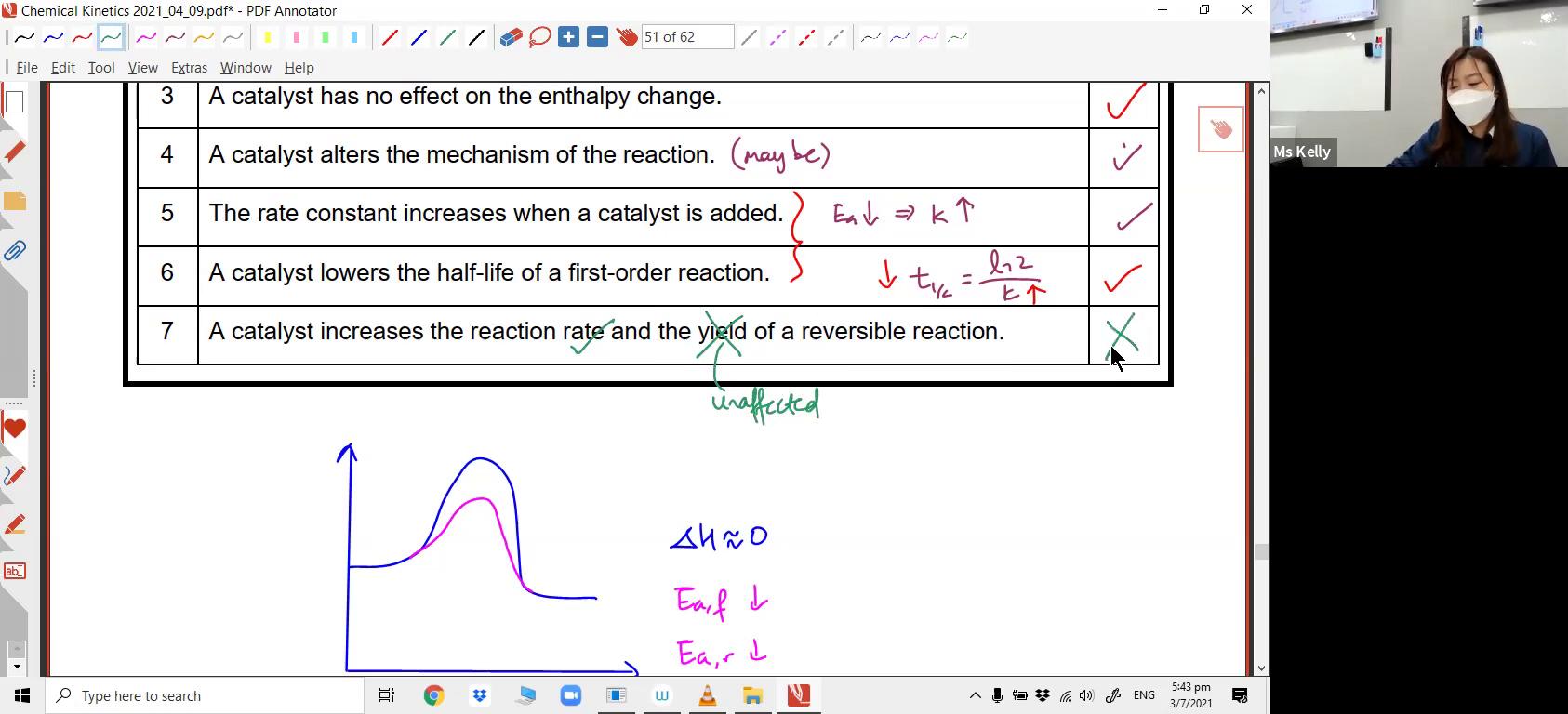[REACTION KINETICS] Factors affecting Reaction Rates