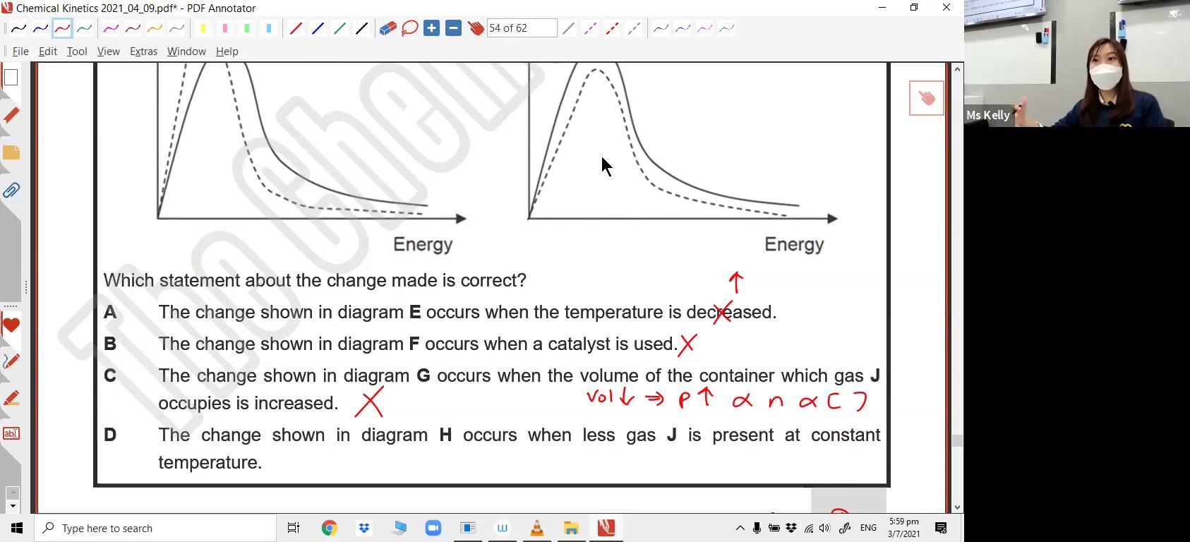 [REACTION KINETICS] Maxwell-Boltzmann Distribution