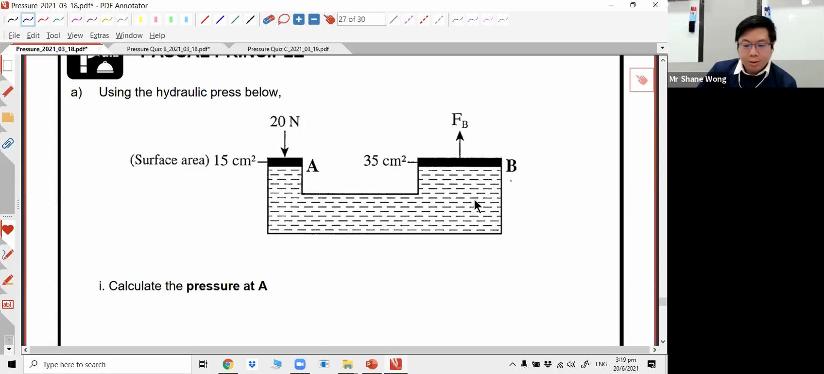 [PRESSURE] Hydraulic System