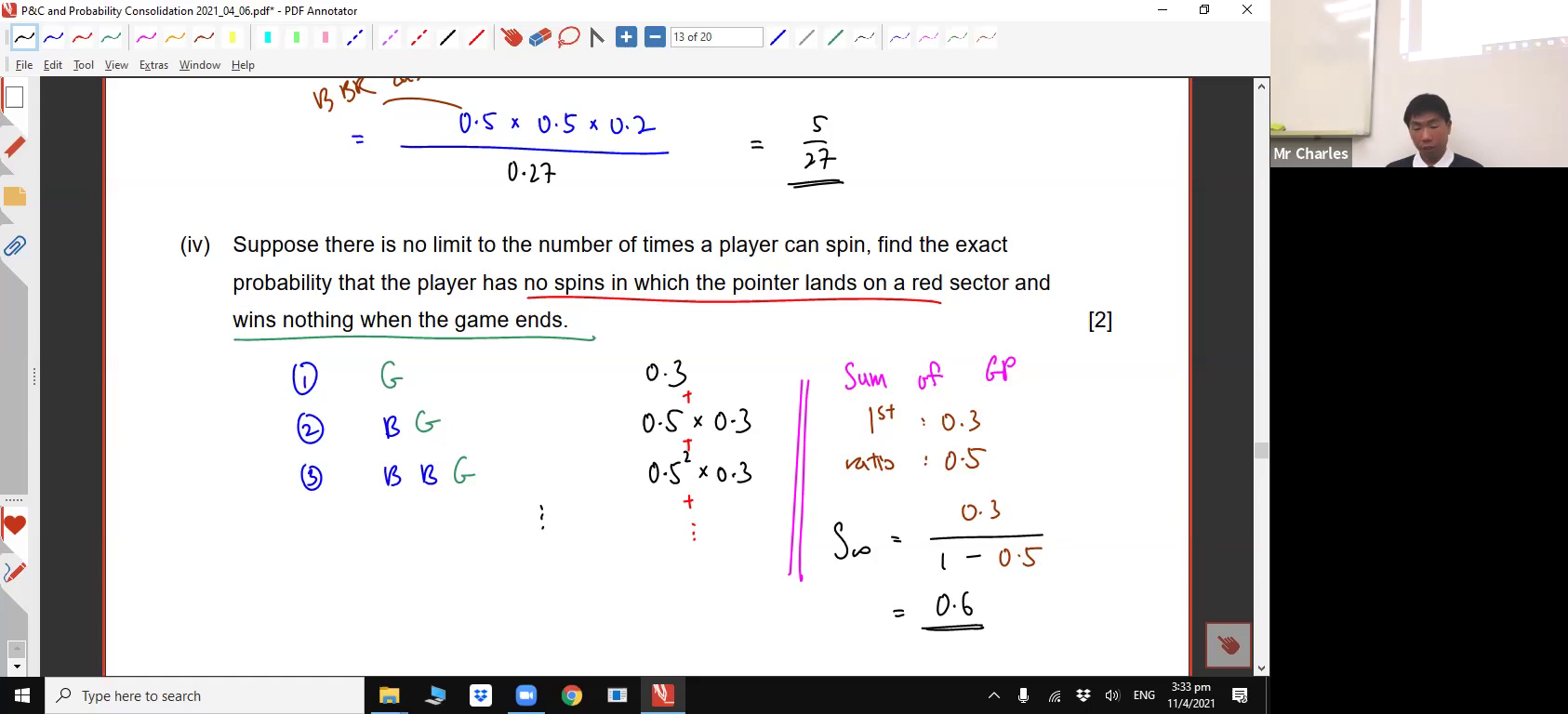 [PROBABILITY REVISION] Conditional Probability