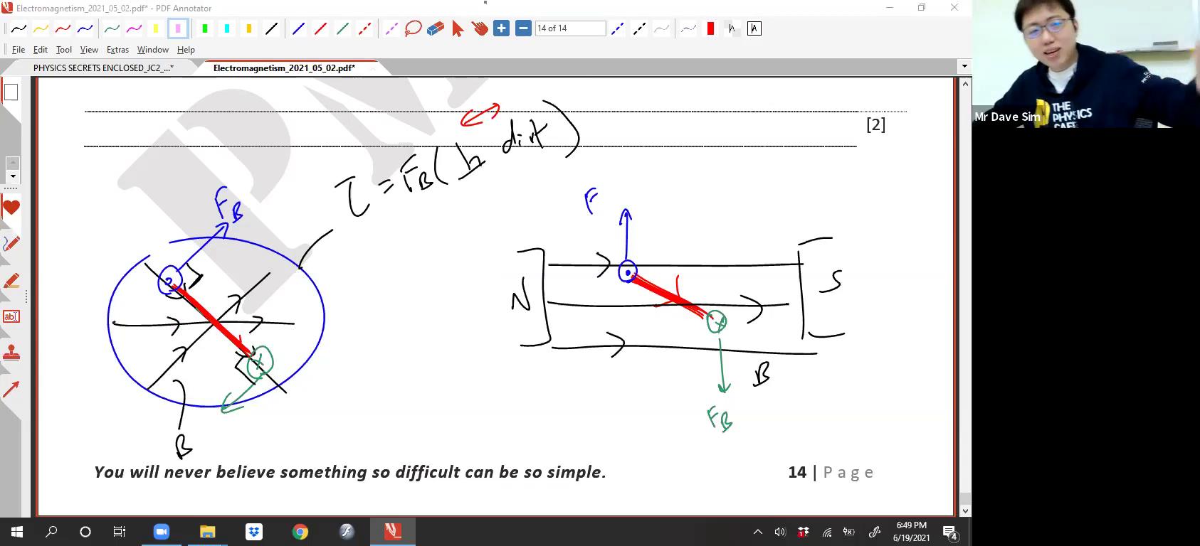 [EM] B Field and E Field