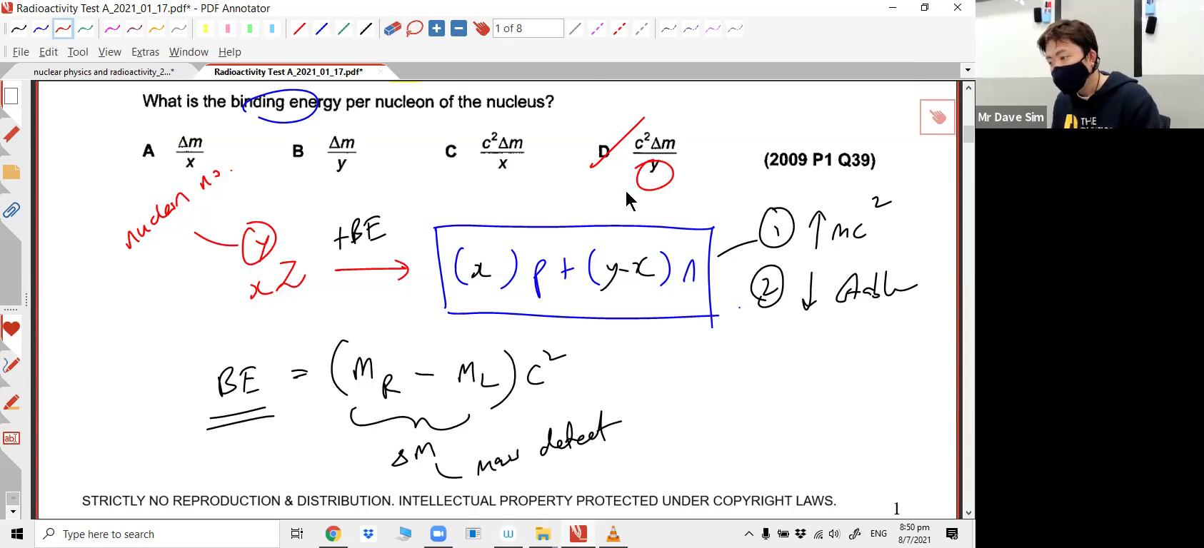 [NUCLEAR] Nuclear Reaction