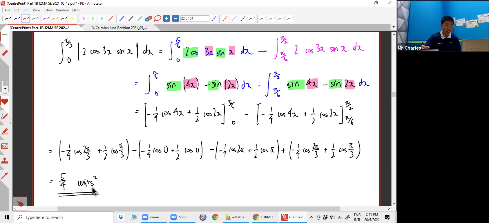 [INTEGRATION] By Parts