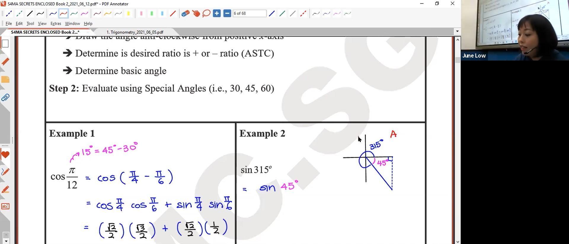 [TRIGO] Special Angles