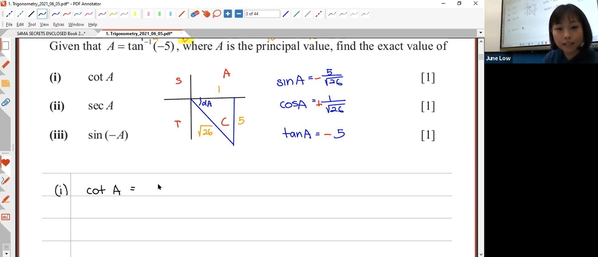 [TRIGO] Trigonometry Ratios